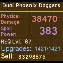 Other | Dual Phoenix Daggers DQ