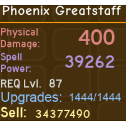 Other | Phoenix Greatstaff DQ