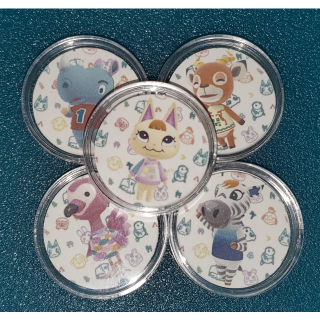 Animal Crossing Amiibo Coins Fully Functional 10 Coins