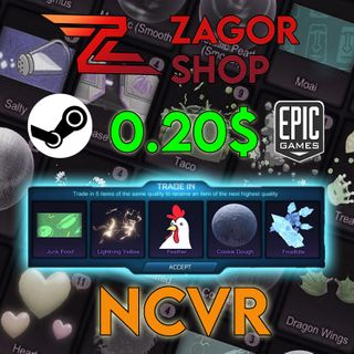 NCVR 192x   (Non Crate Very Rares) - (Trade-Up Items)