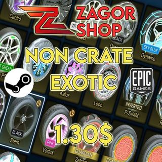 NCE 7x   (Non Crate Exotic) - (Trade-Up Items)   7x
