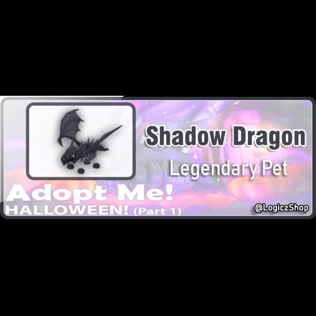 Pet Shadow Dragon Adopt Me In Game Items Gameflip