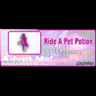Bundle | X5 Ride Potion Adopt Me