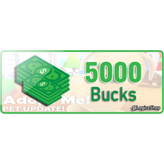 Bundle | 5K Bucks - Adopt Me
