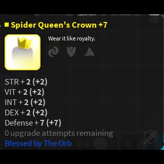 Other | Spider Crown - Vesteria