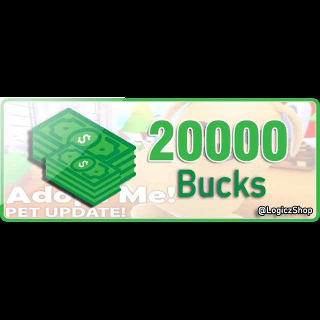 Other 20k Bucks Adopt Me In Game Items Gameflip