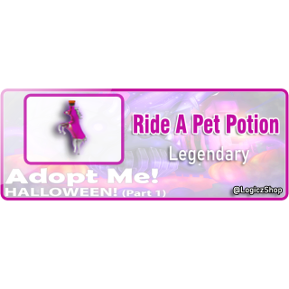 Bundle | X2 Ride Potion Adopt Me