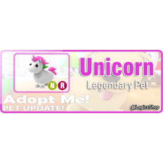 Other Adopt Me Unicorn Pet In Game Items Gameflip
