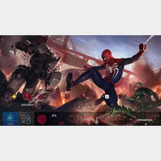 Marvels Spider Man Battle Theme PS4 US Instant Delivery