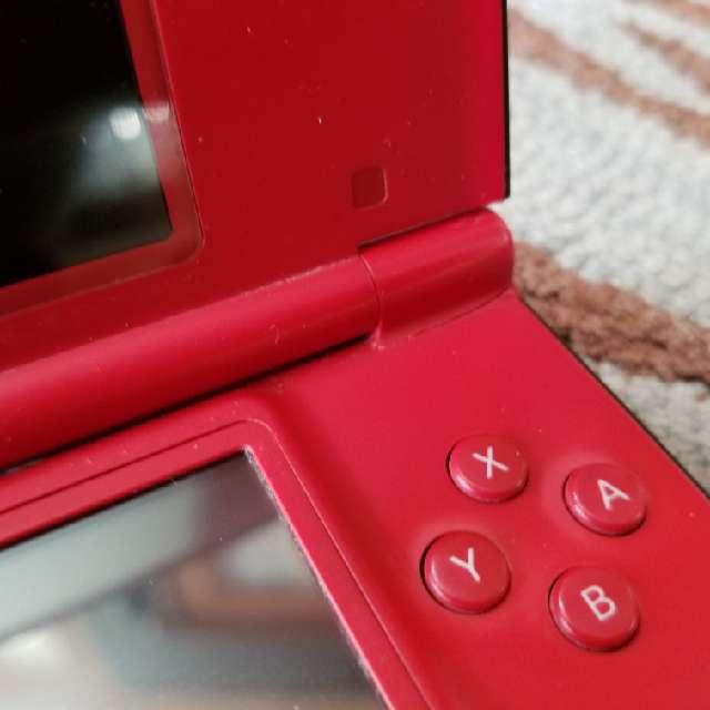 Nintendo DSi XL Red Super Mario Bros 25th Anniversary