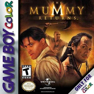 Game Boy Color The Mummy Returns