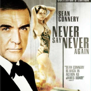 Never Say Never Again Sean Connery Collector's Edition Blu-ray Disc