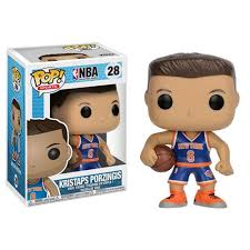 Pop! Sports NBA Kristaps Porzingis 28