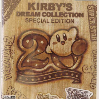 Wii Kirby's Dream Collection Special Edition