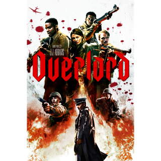 Overlord 4K UHD Vudu redeem..Actual code,,instant delivery