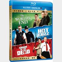 Cornetto Trilogy HD MA Auto Delivery, Watch Now  the worlds end  Hot fuzz  Shaun of the dead