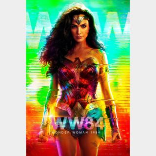 Wonder Woman 1984 HD MA/Vudu  Instant delivery