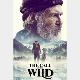 The Call of the Wild HD MA split code Moviesanywhere with points