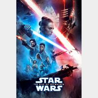 Star Wars: The Rise of Skywalker  HD MA split with points