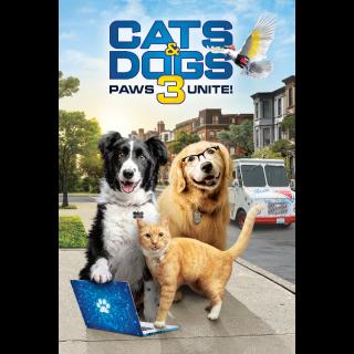 Cats & Dogs 3: Paws Unite HD MA