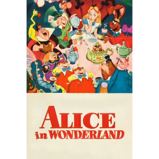 Rare 1951 Alice in Wonderland HD MA SPlit code with points (if they came with them) ,no GP