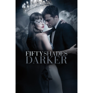Fifty Shades Darker Unrated HD MA Redeem..Instant Delivery..Actual code..not instawatch