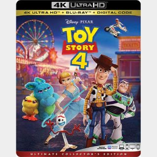 Toy Story 4 4k Itunes Redeem with DMR points split code, instant delivery