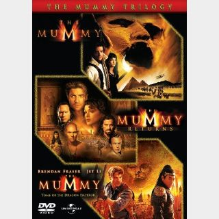 the mummy trilogy HD MA   Automatic delivery