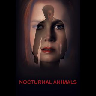 Nocturnal Animals HD MA/Vudu..actual code