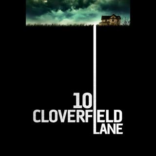 10 Cloverfield Lane HD Itunes only redeem