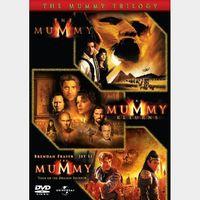 the mummy trilogy HDX Vudu
