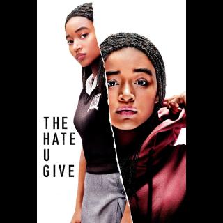 The Hate U Give HD MA