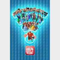 Ralph Breaks the Internet FULL HD MA code with points..Instant delivery...