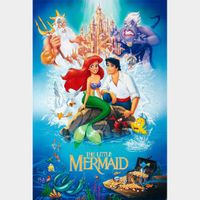 The Little Mermaid HD FULL code with points