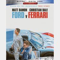 Ford v Ferrari HD MA code..Automatic delivery..