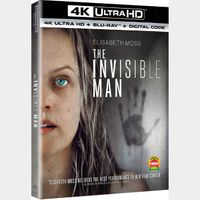 The Invisible Man 4K MA  Auto Instant Delivery, Watch Now