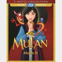 Mulan 1&2 HD MA split with points