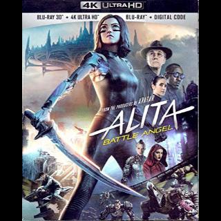 Alita: Battle Angel 4K UHD MA