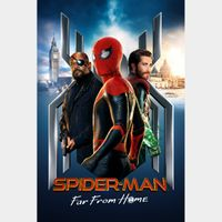 Spider-Man: Far from Home 4K UHD MA  Auto Delivery