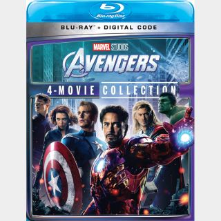 The Avengers 4 movie collection HD googleplay Instant delivery
