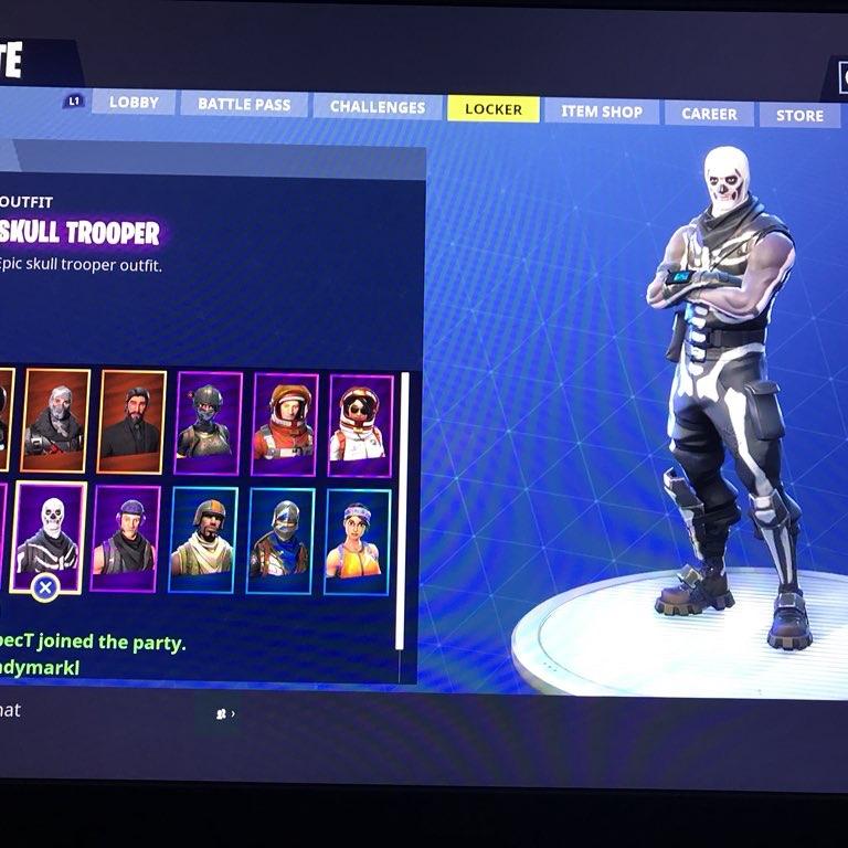 Skull Trooper And Aerial Assault Trooper Account Other Gameflip