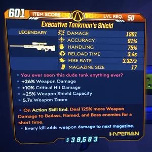 Weapon | Tankmans Shield