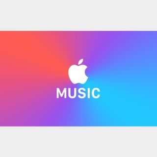 Apple Music 4 Months Trial Subscription Code