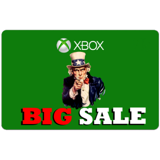 $25.00 Xbox Gift Card USA (Instant Delivery)