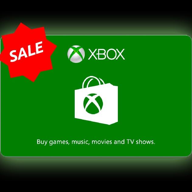 $50.00 Xbox Gift Card (US)