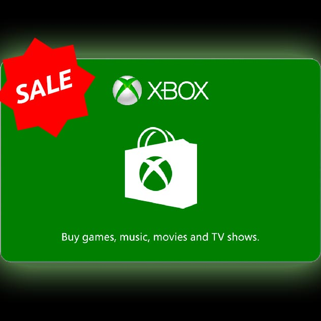 $25.00 Xbox Gift Card (US)