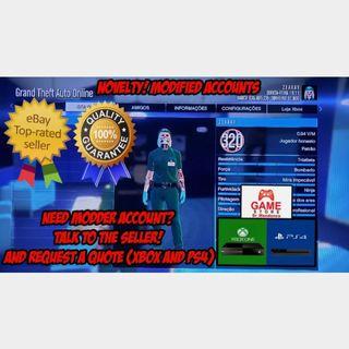 GTA 5 PS4 Grand Theft Auto V Online RANK LEVEL BOOST 10 LEVEL PER PURCHASE Read Description