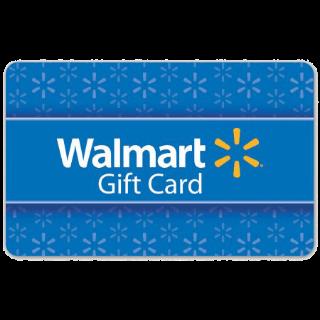 $50.00 Walmart INSTANT DELIVERY