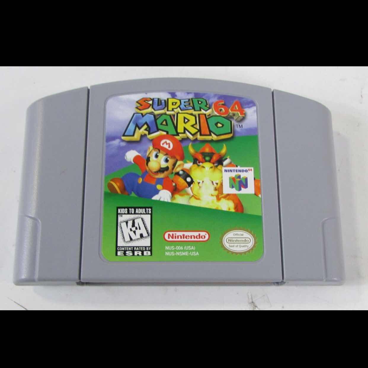 Super Mario 64 - Nintendo 64 Games (New) - Gameflip