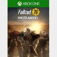 Fallout 76: Wastelanders Deluxe Edition - XBOX ONE GLOBAL KEY